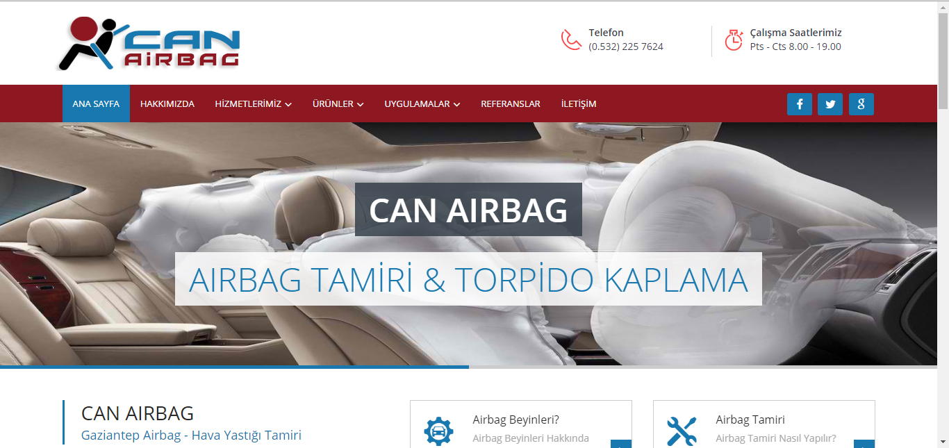 Can Airbag | GAZİANTEP